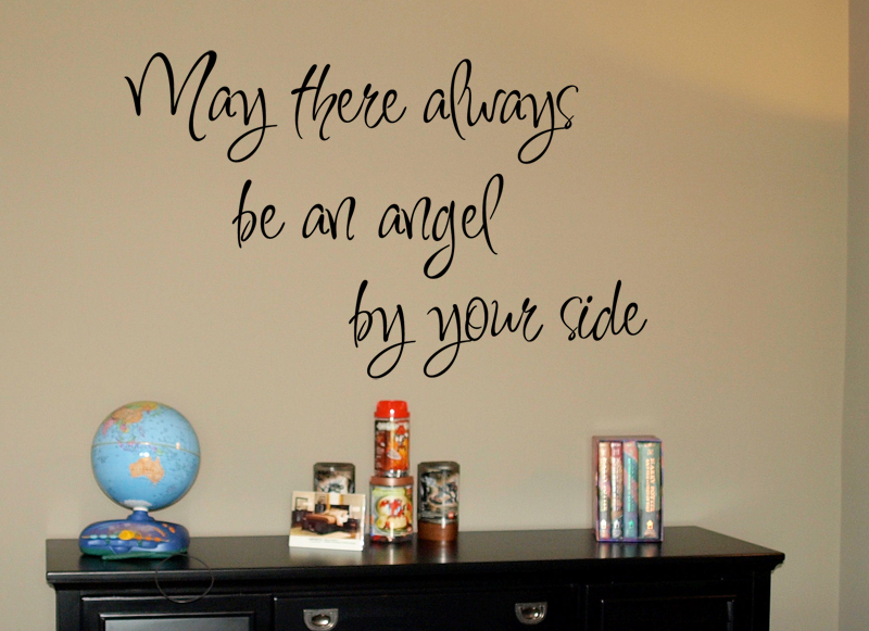 May There Always Be An Angel Wall Decal