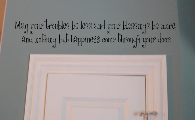 Nothing But Happiness Wall Decal