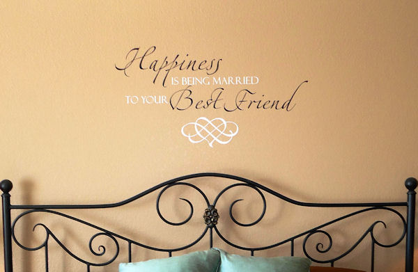 Happiness Best Friend Wall Decals