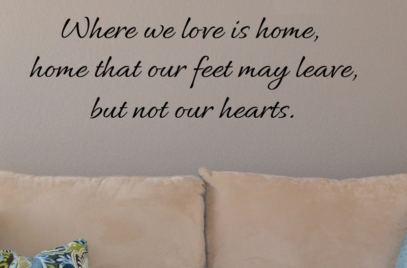 Where We Love Wall Decal