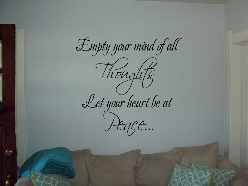 Your Heart At Peace Wall Decals