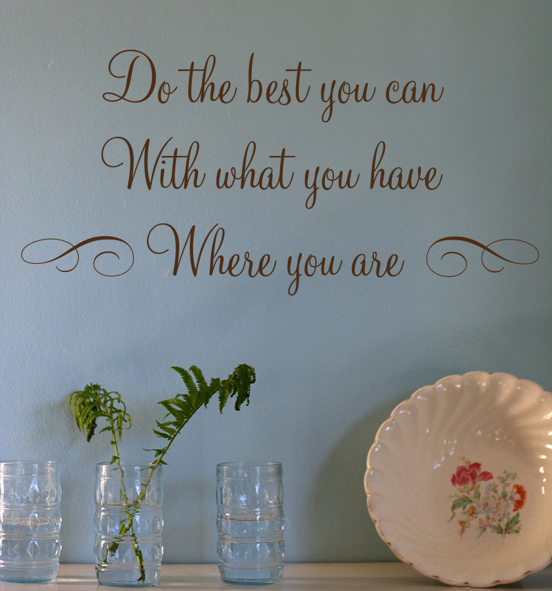 Do The Best Wall Decals