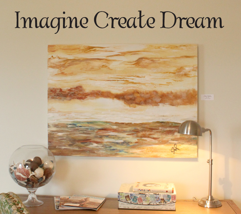 Imagine Create Dream Wall Decal