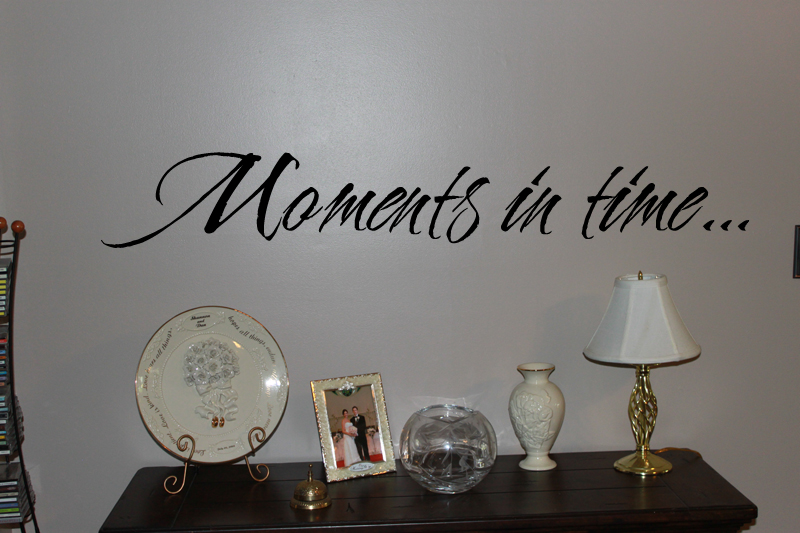 Moments In Time Wall Decal