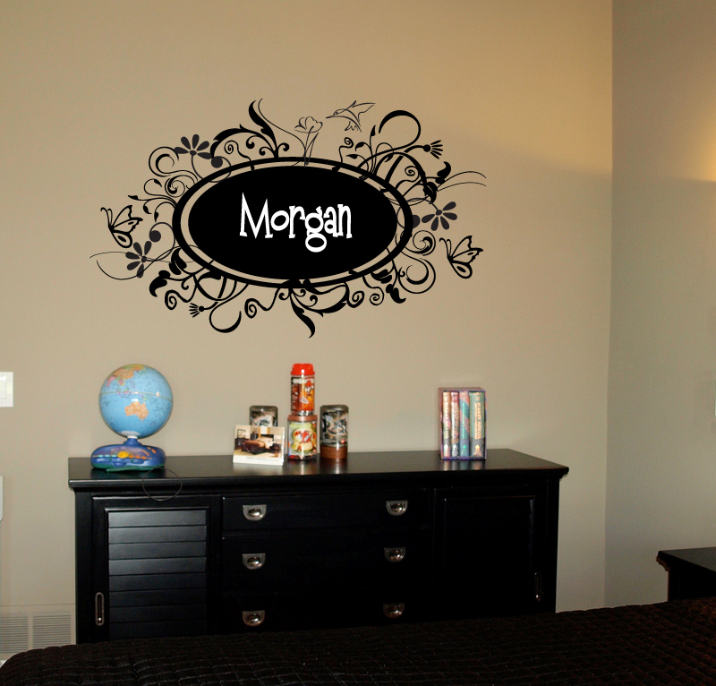 Mandingo Fun Frame Wall Decal