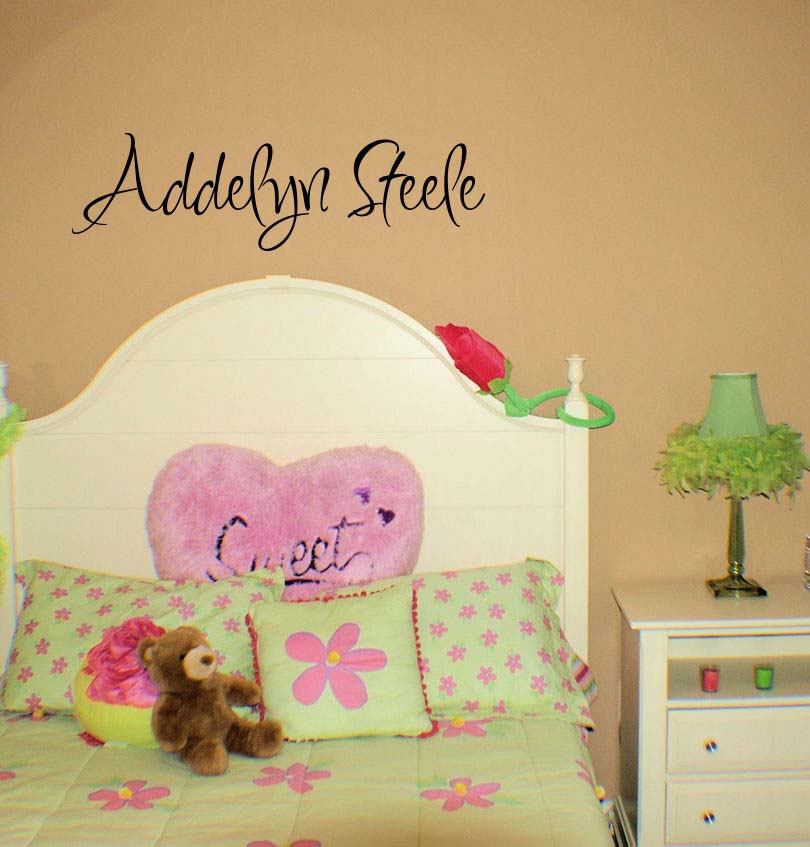 Inspiration Name Wall Decal