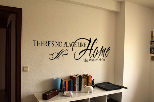 There's No Place Like Home Oz Wall Decal