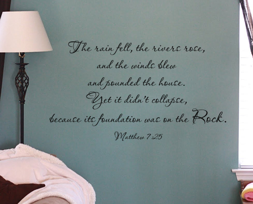 The Rock Wall Decal