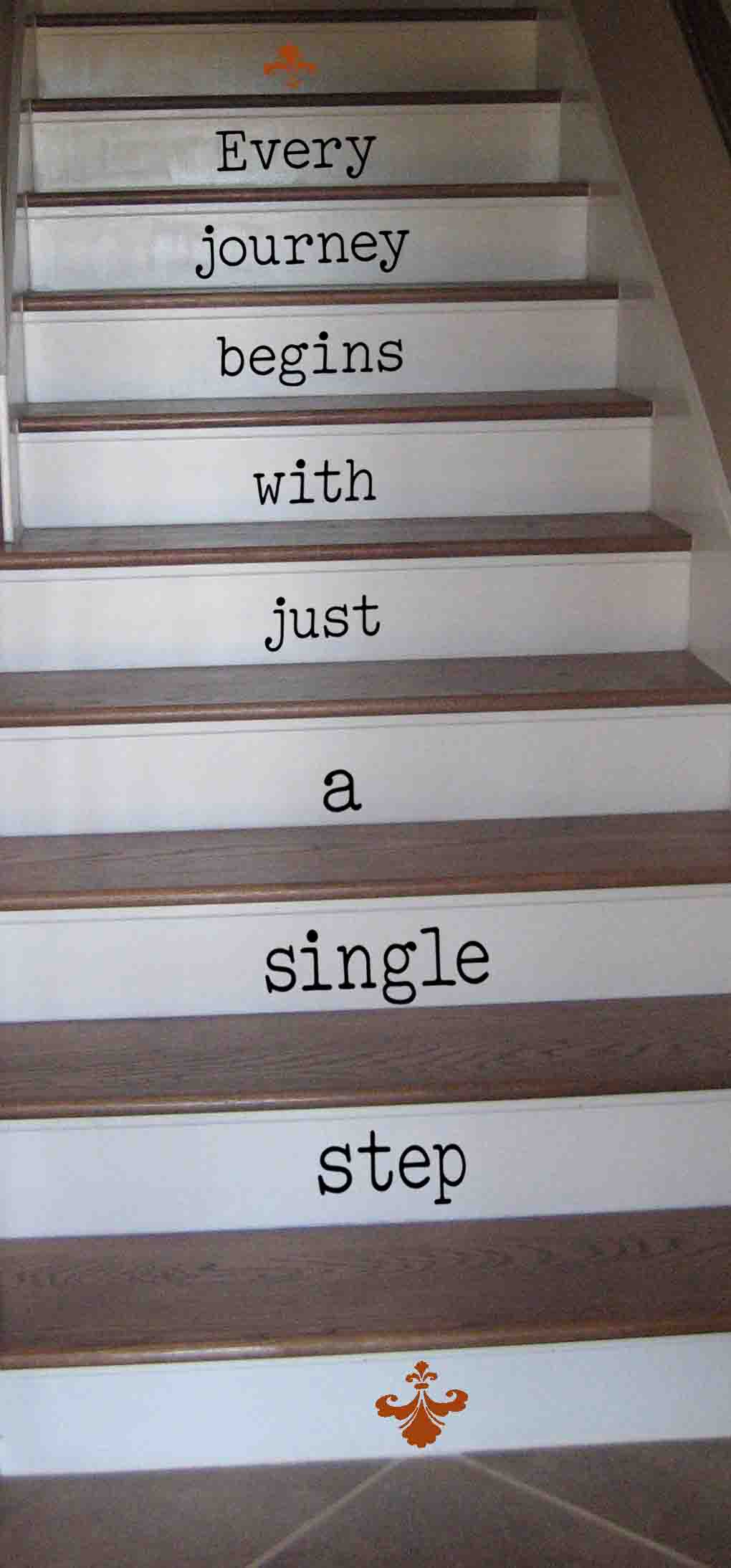 Every Journey Single Step Wall Decal
