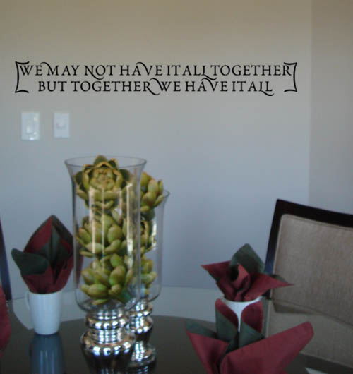 Together | Wall Decals