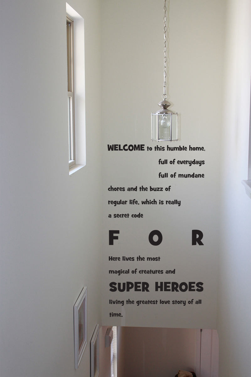 Welcome To Humble Home Decal