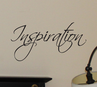 Simply Words Inspiration Wall Decal