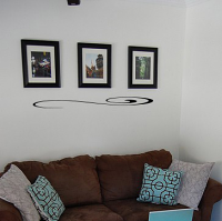 Embellishment- Swirl Wall Decal
