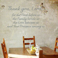 Thank You Lord Wall Decal