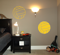 Waterpolo Balls Wall Decal
