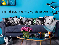 Best Friends Wall Decal