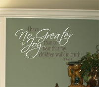 Children Walk In Truth Wall Decal
