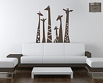 Giraffe Necks Wall Decal