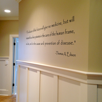 Edison Quote Wall Decal
