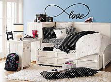 Infinity Love Wall Decal