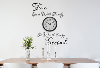 Time Spent With Family Wall Decal