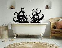Squid Tentacles Wall Decal