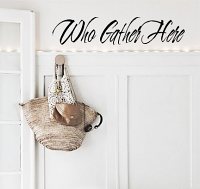 Who Gather Here  Wall Decal