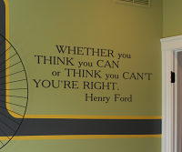 Whether You Think You Can... Wall Decal