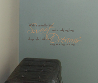 Sweet Dreams Bug In A Rug Wall Decal