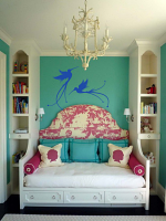 Flourish Birds Wall Decal