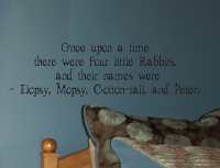 Once Upon A Time Peter Rabbit Wall Decals