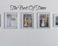 Best Of Times Handwriting Wall Decal