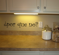 Por Que No Wall Decal