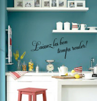 Laissex Les Bons Wall Decal