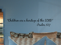 Children Heritage Of Lord Wall Decal