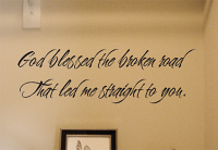 Broken Road Wall Decal