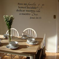 Pero Mi Familia Wall Decal