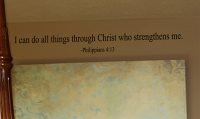 Philippians Do All Things Wall Decal