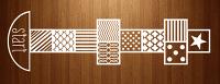 Pattern Hopscotch Floor Decal