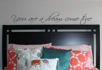 You Are Dream Come True Wall Decal