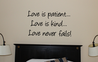 Love Is | Wall Decal