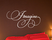 Imagine Wall Decals
