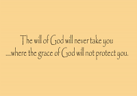 The Will Of God Wall Decal