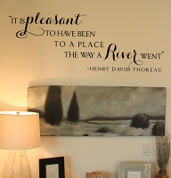 Henry Thoreau Quote Wall Decal