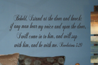 Behold Revelations II Wall Decal