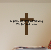 Do Justice Wall Decal