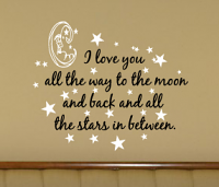 All The Stars In Between Wall Decal
