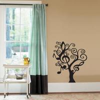 Music Tree Wall Decal