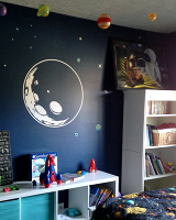 Moon Outline Wall Decal