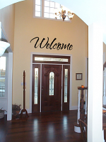 Simply Welcome Wall Decal